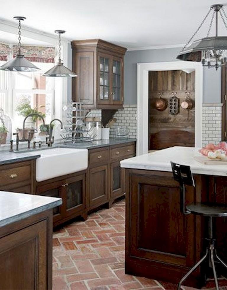 72+ Lovely Kitchen Backsplash with Dark Cabinets Decor ...